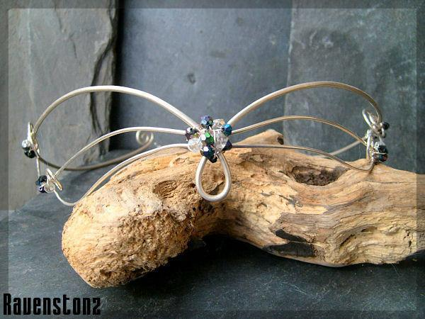 Silver plated circlet