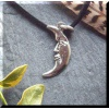 Pewter Man in the Moon Pendant