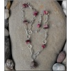 Rock Crystal and Tourmaline necklace