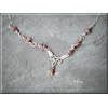 Silver and Ruby Necklace