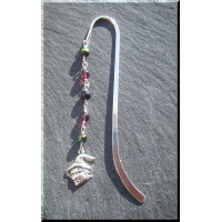 Pewter witch bookmark